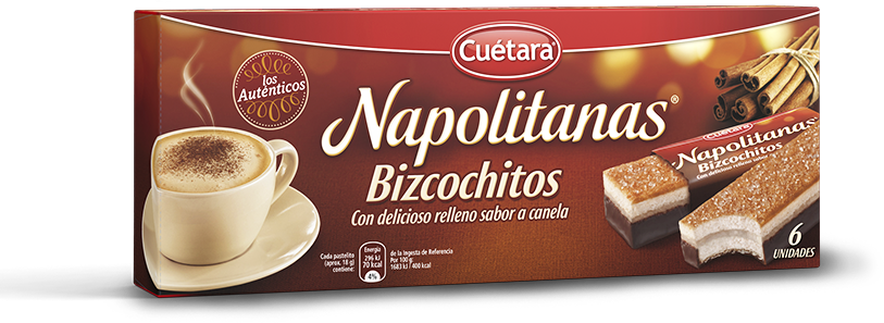 Pack de Napolitanas Bizcochitos